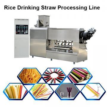 Full Automatic Pasta Straw Making Extruder Machine Pasta Machine