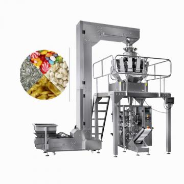 Semi Auto Two Outlet Weighing and Packaging Machinery for Puffy Food