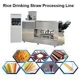 Automatic Biodegradable Straw Making Machine / Edible Straw Machinery / Processing Line